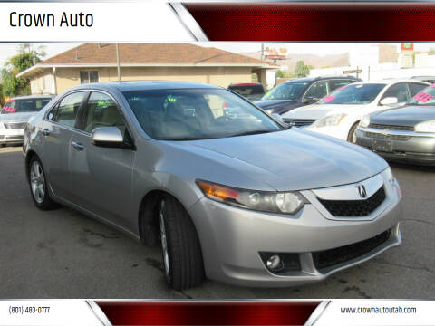 2009 Acura TSX for sale at Crown Auto in South Salt Lake City UT