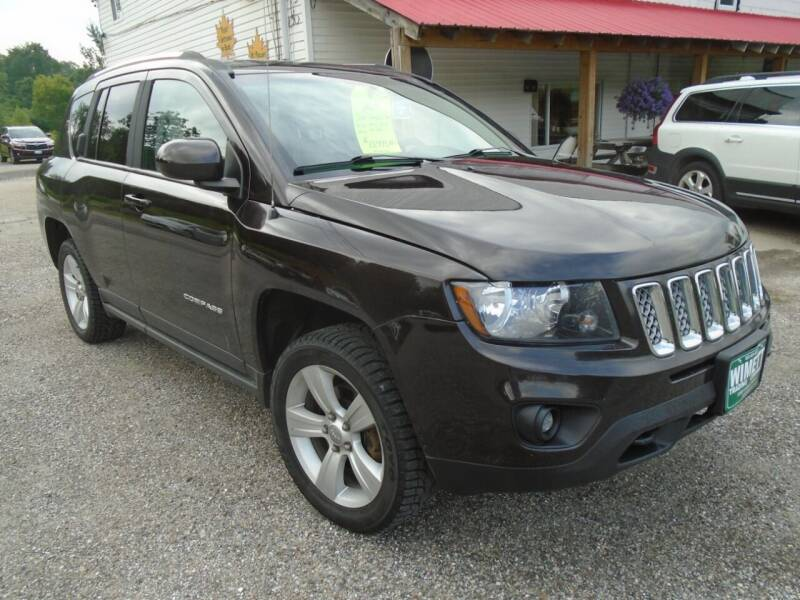 2014 Jeep Compass for sale at Wimett Trading Company in Leicester VT