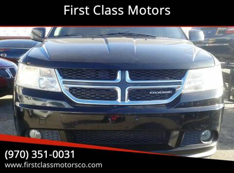 2011 Dodge Journey for sale at First Class Motors in Greeley CO