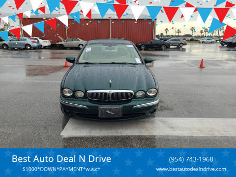 2004 Jaguar X-Type for sale at Best Auto Deal N Drive in Hollywood FL