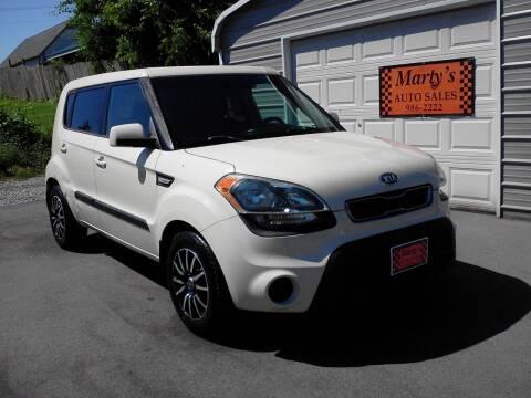 2013 Kia Soul for sale at Marty's Auto Sales in Lenoir City TN