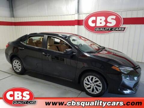2018 Toyota Corolla for sale at CBS Quality Cars in Durham NC