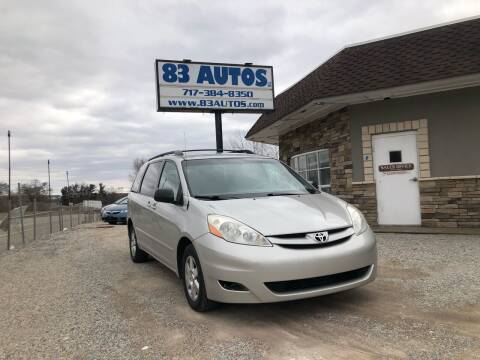 2007 Toyota Sienna for sale at 83 Autos in York PA