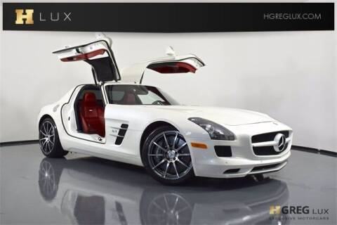 2012 Mercedes-Benz SLS AMG for sale at HGREG LUX EXCLUSIVE MOTORCARS in Pompano Beach FL
