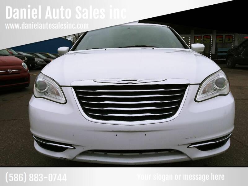 2012 CHRYSLER. SDN LX. 200 for sale at Daniel Auto Sales inc in Clinton Township MI