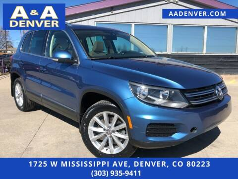 2017 Volkswagen Tiguan for sale at A & A AUTO LLC in Denver CO