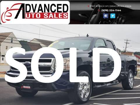 2010 Chevrolet Silverado 1500 for sale at Advanced Auto Sales in Dracut MA