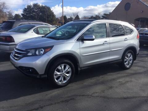 2014 Honda CR-V for sale at Beutler Auto Sales in Clearfield UT