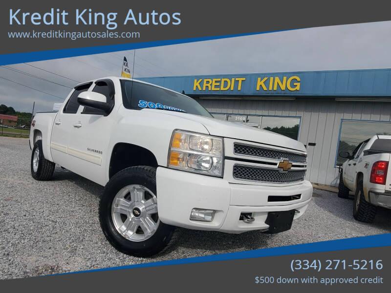 2013 Chevrolet Silverado 1500 for sale at Kredit King Autos in Montgomery AL