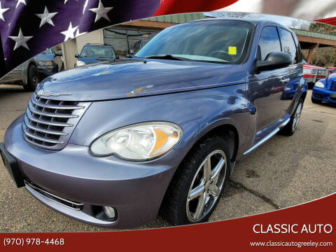 2007 Chrysler PT Cruiser for sale at Classic Auto in Greeley CO
