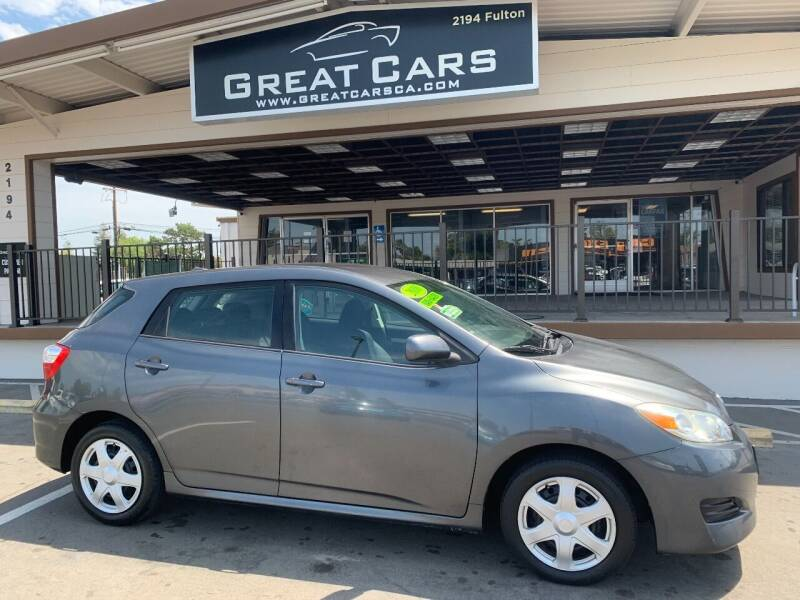 2010 Toyota Matrix for sale at Great Cars in Sacramento CA