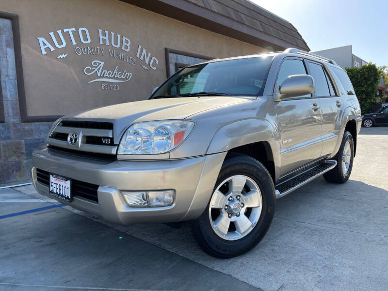 2003 Toyota 4Runner for sale at Auto Hub, Inc. in Anaheim CA