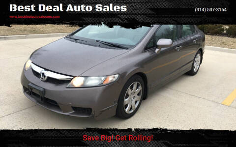 2010 Honda Civic for sale at Best Deal Auto Sales in Saint Charles MO