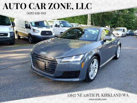 2017 Audi TT for sale at Auto Car Zone, LLC in Kirkland WA