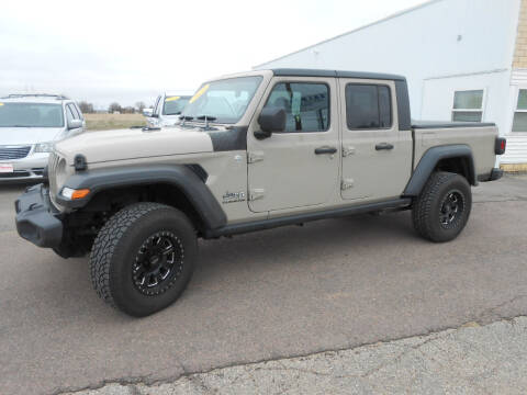 2020 Jeep Gladiator for sale at Salmon Automotive Inc. in Tracy MN