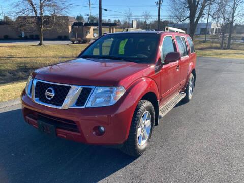 2012 Nissan Pathfinder for sale at Augusta Auto Sales in Waynesboro VA