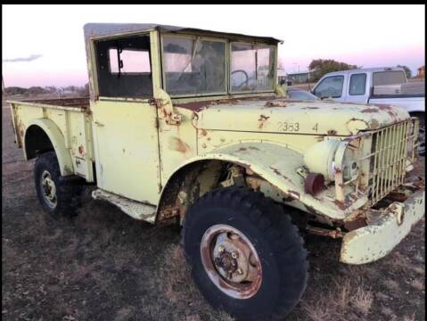 1951 Dodge M37 for sale at CLASSIC MOTOR SPORTS in Winters TX