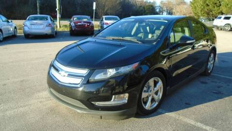 2013 Chevrolet Volt for sale at Carolina Auto Trading in Raleigh NC