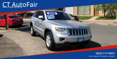 2011 Jeep Grand Cherokee for sale at CT AutoFair in West Hartford CT