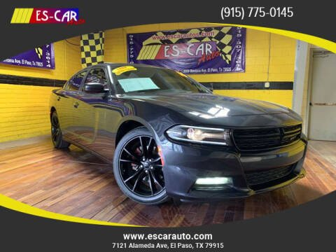 2016 Dodge Charger for sale at Escar Auto in El Paso TX