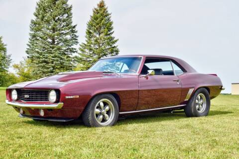 1969 Chevrolet Camaro for sale at Hooked On Classics in Watertown MN
