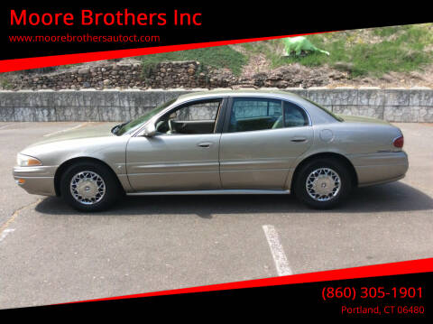 2002 Buick LeSabre for sale at Moore Brothers Inc in Portland CT