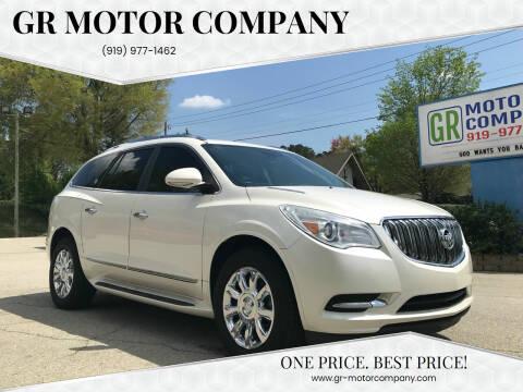 2014 Buick Enclave for sale at GR Motor Company in Garner NC