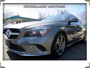 2018 Mercedes-Benz CLA for sale at Rockland Automall - Rockland Motors in West Nyack NY