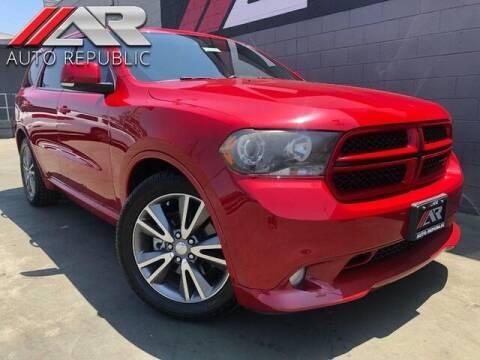 2013 Dodge Durango for sale at Auto Republic Fullerton in Fullerton CA
