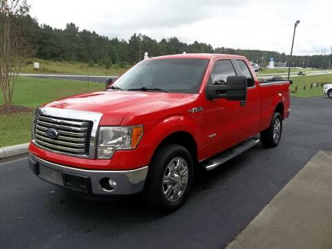 2012 Ford F-150 for sale at Anderson Wholesale Auto in Warrenville SC