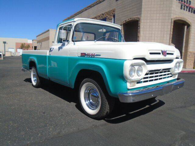 1960 Ford F-100 for sale at COPPER STATE MOTORSPORTS in Phoenix AZ