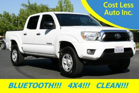 2013 Toyota Tacoma for sale at Cost Less Auto Inc. in Rocklin CA