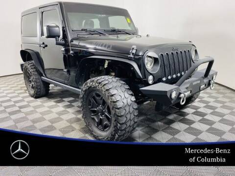 2016 Jeep Wrangler for sale at Preowned of Columbia in Columbia MO