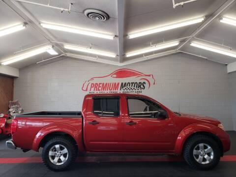 2013 Nissan Frontier for sale at Premium Motors in Villa Park IL