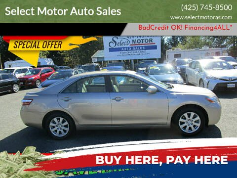 2009 Toyota Camry Hybrid for sale at Select Motor Auto Sales in Lynnwood WA