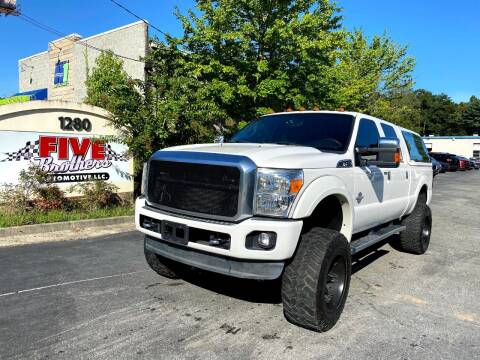 2013 Ford F-250 Super Duty for sale at Five Brothers Auto Sales in Roswell GA