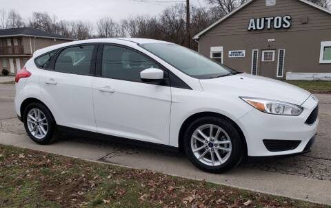 2018 Ford Focus for sale at Riverfront Auto Sales in Middletown OH