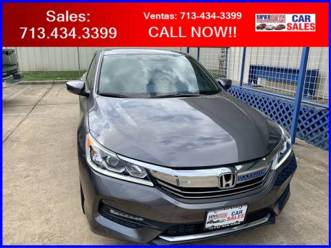 2017 Honda Accord for sale at HOUSTON CAR SALES INC in Houston TX