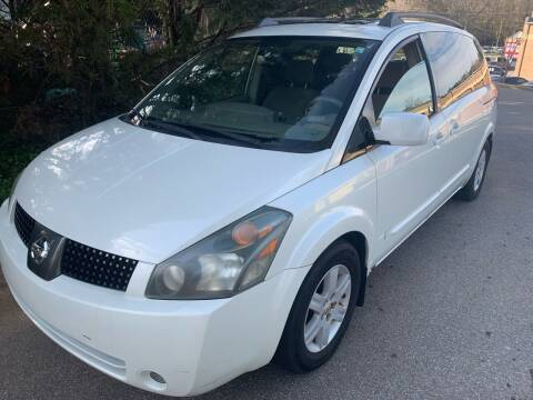 2004 Nissan Quest for sale at CAR STOP INC in Duluth GA