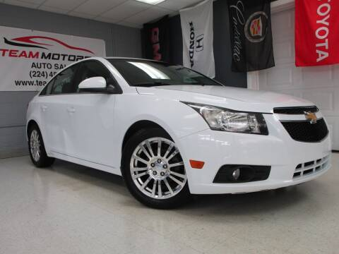 2012 Chevrolet Cruze for sale at TEAM MOTORS LLC in East Dundee IL