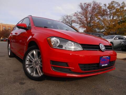 2016 Volkswagen Golf SportWagen for sale at H & R Auto in Arlington VA