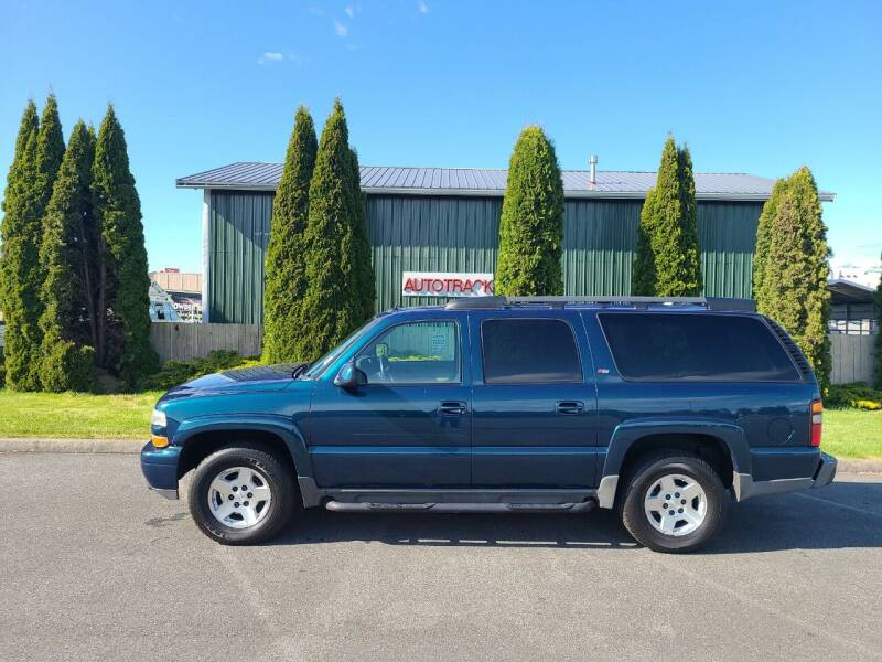 2005 Chevrolet Suburban for sale at AUTOTRACK INC in Mount Vernon WA
