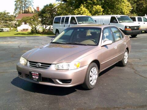 2002 Toyota Corolla for sale at Stoltz Motors in Troy OH