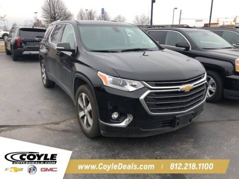 2018 Chevrolet Traverse for sale at COYLE GM - COYLE NISSAN in Clarksville IN