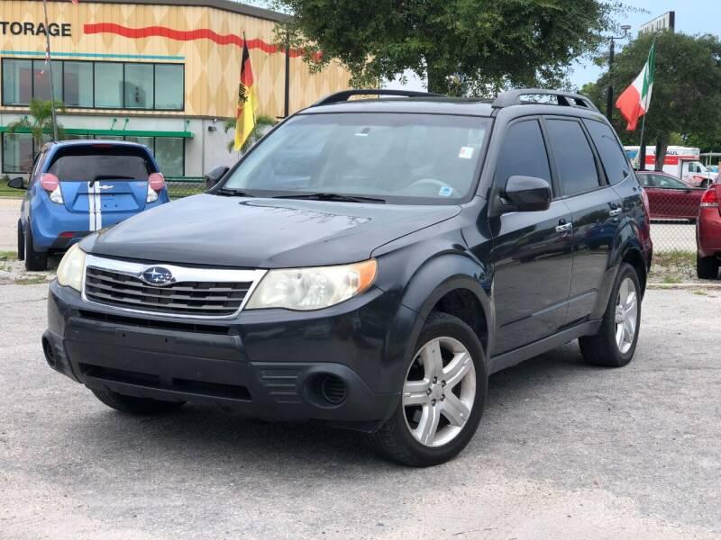 2009 Subaru Forester for sale at Pro Cars Of Sarasota Inc in Sarasota FL
