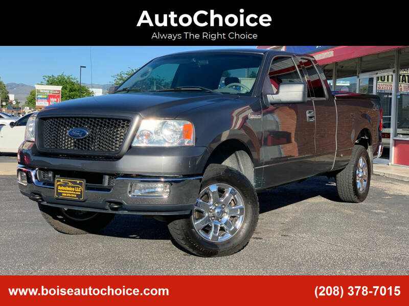 2004 Ford F-150 for sale at AutoChoice in Boise ID