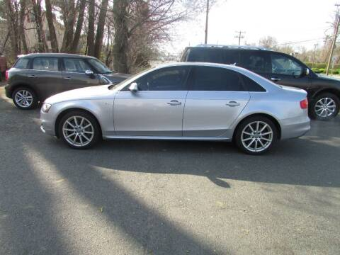2015 Audi A4 for sale at Nutmeg Auto Wholesalers Inc in East Hartford CT