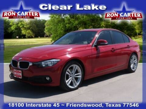 2016 BMW 3 Series for sale at Ron Carter  Clear Lake Used Cars in Houston TX