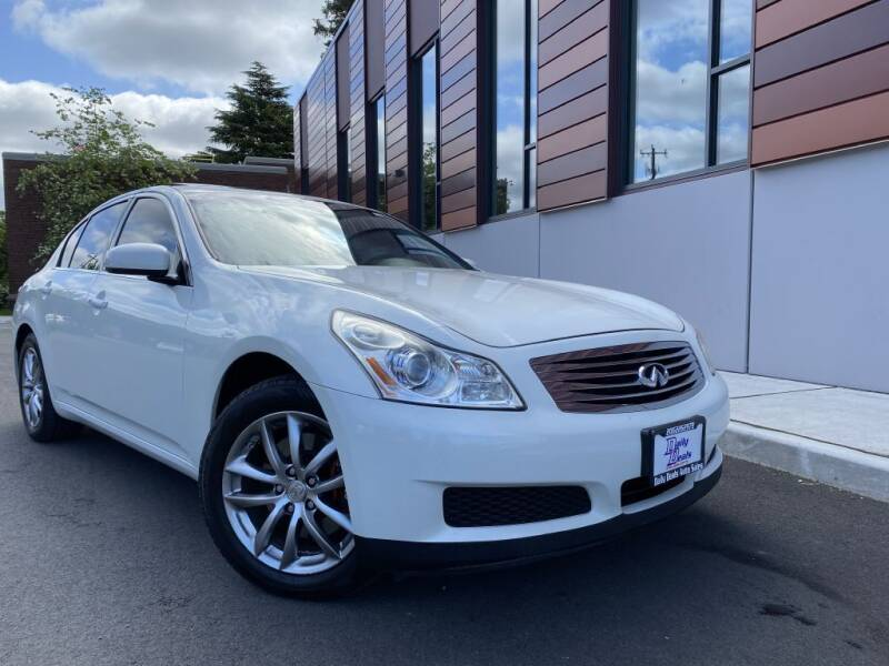 2007 Infiniti G35 for sale at DAILY DEALS AUTO SALES in Seattle WA