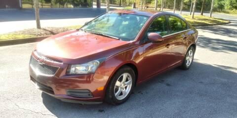 2012 Chevrolet Cruze for sale at Georgia Fine Motors Inc. in Buford GA
